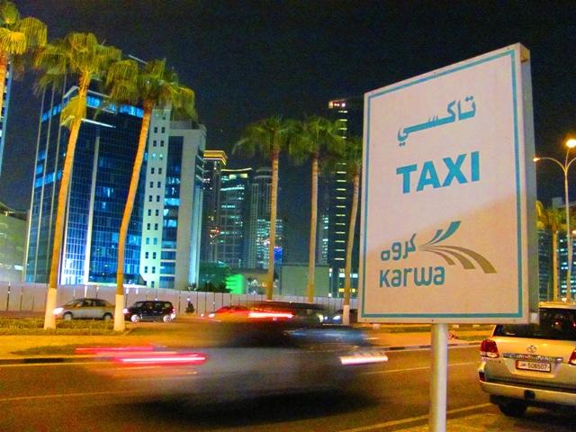 Doha'da Taksiler