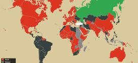 Türkiye'den Vize İstemeyen Ülkeler Haritası