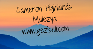Cameron Highlands, Malezyawww.geziseli.com