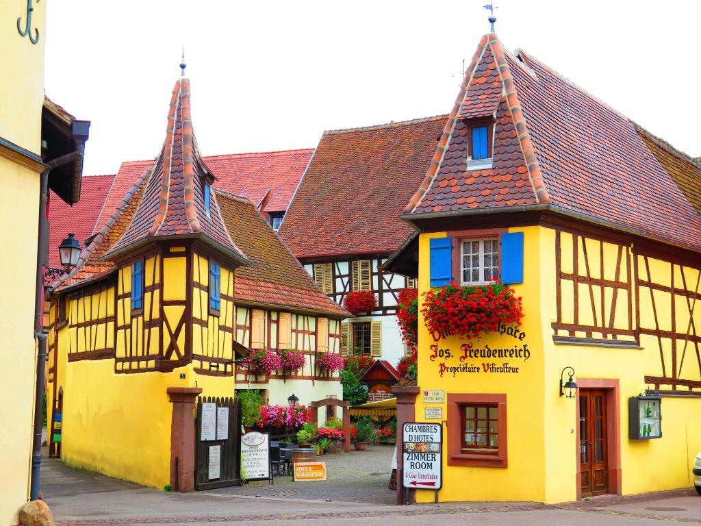Avrupa turu - Fransa Alsas Eguisheim