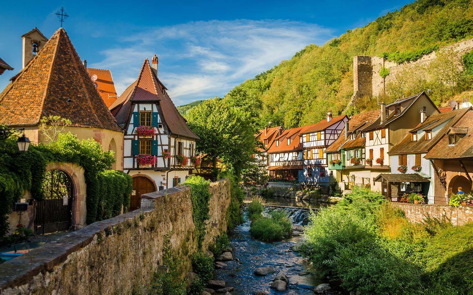 Avrupa turu -  Fransa, Alsas Kaysersberg
